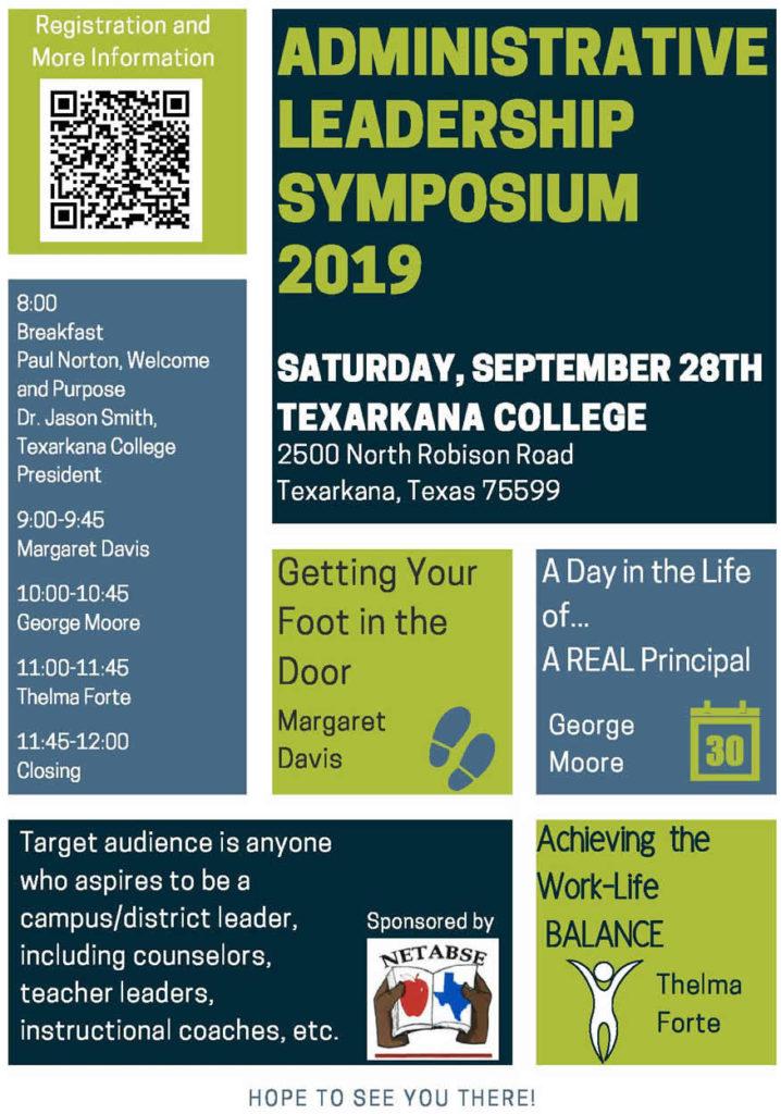 NETABSE Administrator Symposium