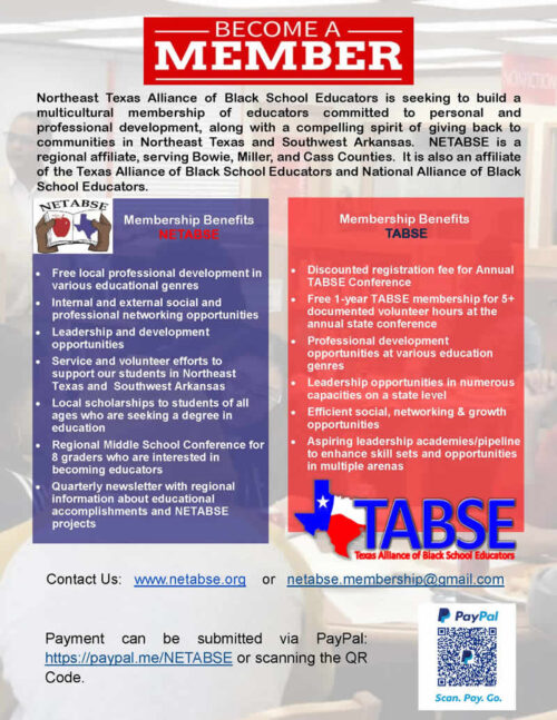Become A NETABSE Member (Flyer) Sep 2020